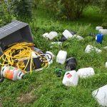Drugslab afval gedumpt op parkeerplaats aan de Koedood