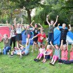 Spelen en kamperen in de Oranjespeeltuin