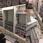 Puinhoop in MCD Supermarkt aan de Marijkesingel na inbraak