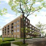 Verhuur nieuwbouw appartementen Maasstraat op vrijdag 1 september van start