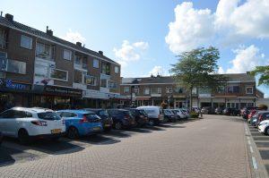 Archieffoto parkeerplaatsen op 't Vlak, Barendrecht