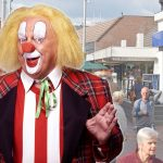 Clown Bassie zaterdagmiddag op de Middenbaan bij The Read Shop