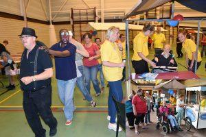 Gezellige muzikale spelletjesmiddag in Aksent voor mensen met een beperking