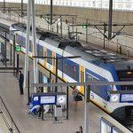 Trein (Sprinter) op Station Barendrecht