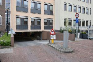 Parkeergarage onder gemeentehuis Barendrecht (Maasstraat)