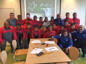 Zuid-Afrikaanse studenten bezoeken Edudelta College in Barendrecht