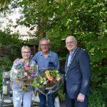 Waarderingsspeld voor echtpaar Van der Wel-Van Es