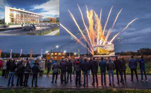 Eerste paal geslagen bij Van Gelder op nieuwe bedrijventerrein Nieuw-Reijerwaard