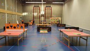 Vanmiddag 15:30: Tafeltennis instuif voor kinderen door Taveba in sporthal Riederpoort