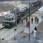 Video: Aanleg trambaan Middeldijkerplein in 2003 - 2004