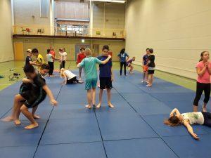 Leerlingen van De Draaimolen krijgen judoles