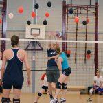 Volleybalwedstrijd CVV Spirit, Sporthal de Vrijenburgpoort