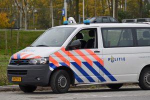 Politieauto, Dierensteinweg, Barendrecht