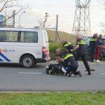 Automobilist aangehouden na eenzijdig ongeval op Carnisser Baan, gevecht met politie op rijbaan