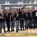 Team Probots van Dalton Lyceum haalt 3e plek tijdens robotwedstrijd, door naar Benelux finale