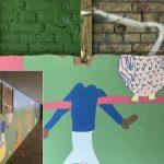 Vandalisme Park Buitenoord: Kunstproject van tunneltje met grof geweld vernield