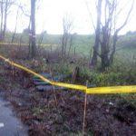 Afval met mogelijk asbest erin gedumpt bij de Oude Maas