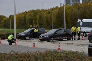 Politiecontrole langs de Dierensteinweg (Archieffoto)