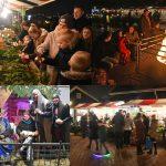 Kerstmarkt met levende kerststal bij De Kleine Duiker