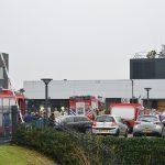 Brandweer groots uitgerukt voor brandmelding in laboratorium aan de Zwolseweg