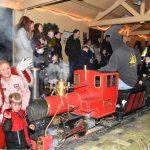 23 december: Kerstritten (in het donker) bij de Maasoever Spoorweg