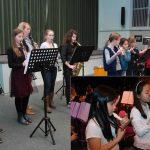 Presentaties door leerlingen Harmonievereniging, nieuwe workshops na de kerstvakantie van start
