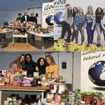Voedselinzamelingsactie door Calvijn Focus Beroepsacademie voor vluchtelingen