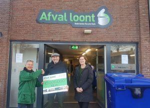 10 miljoenste kilo afval ingeleverd bij Afval Loont Barendrecht