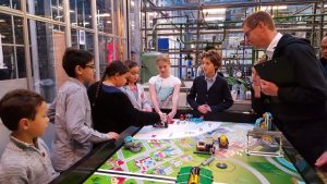 Erasmusklas Barendrecht op regiofinale First Lego League