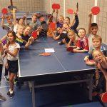 Nieuwe beginnersgroep Tafeltennis (t/m 14 jaar) in sporthal Riederpoort
