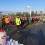 Trainingslopen voor Marathon Rotterdam 2018 bij CAV Energie