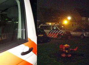 Politieauto bespuugd bij melding van slagaderlijke bloeding aan de Standerdmolen