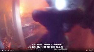 Video: Hondje gered bij grote woningbrand Kastanjehout