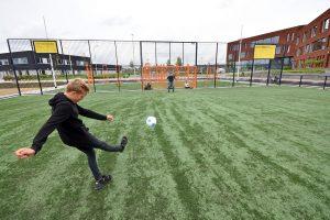 Cruyff Court op Campus Lagewei in Barendrecht