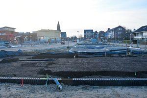 """Waterberging onder nieuw """"duurzaam ook klimaatbestendig"""" gemeentehuisplein"""