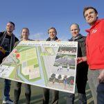 Start renovatie korfbalvelden en aanleg 3x3 basketbal court op Sportpark de Bongerd 2.0