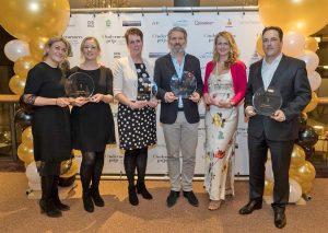 Winnaars ondernemersprijzen BAR-regio, Theehuys Polderzicht start-up van het jaar