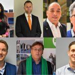 Lijsttrekkers gemeenteraadsverkiezing Barendrecht 2018 GR18