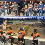 Nieuwe baan van Fietscrossclub Barendrecht officieus geopend op Sportpark de Doorbraak