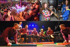 Harmonievereniging zet een dag lang Muziek Centraal in Het Kruispunt