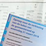 Opkomst gemeenteraadsverkiezing tot 19:00 uur, eerste uitslagen verwacht vanaf 22:00 uur