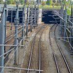 Spoortunnel Barendrecht (Spoor, Tunnel, Bovenleiding)