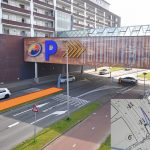 Plan voor verbetering uitrit parkeergarage Carnisse Veste: Extra invoegstrook langs Portlandse Baan