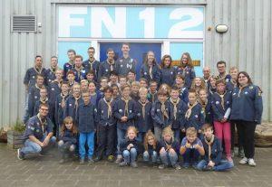 Barendrechtse Scoutinggroep Fridtjof Nansen viert 90-jarig jubileum