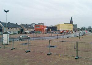 Nieuwe gemeentehuisplein op 20 april grotendeels klaar, markt vanaf 11 mei terug