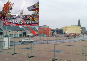 Minder ruimte voor attracties: Kleinere kermis komt op 'Middenbaan zijde' van nieuwe gemeentehuisplein