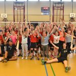 Succesvolle volleybalclinic door ex-international Yannick van Harskamp bij CVV Spirit