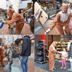 Paasspeurtocht en paashazen in winkelcentrum Carnisse Veste