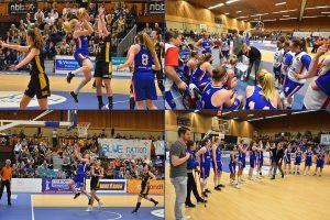 Basketbalvrouwen Renes/Binnenland strijdend ten onder bij bekerfinale in De Driesprong