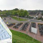 Blauwe parkeerzone in straten rond NS station Barendrecht vanaf half mei actief